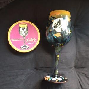 Designs By Lolita Wine Glasses Tright Night